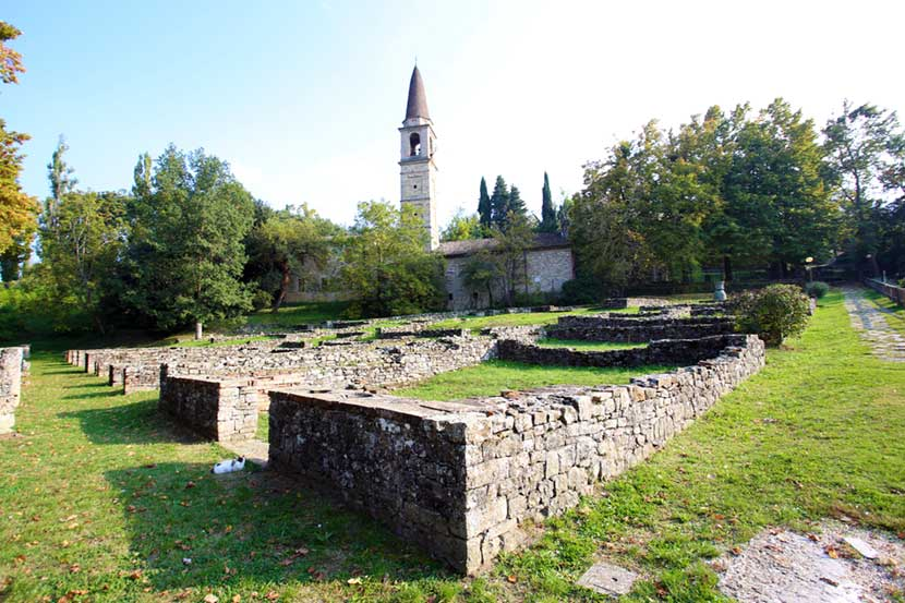 Rovine di Veleia Romana vicino a Castell'Arquato