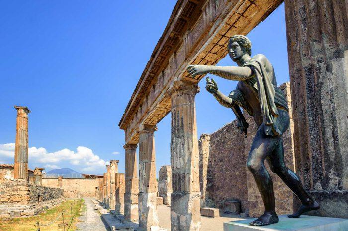 Passeggiate napoletane e Pompei