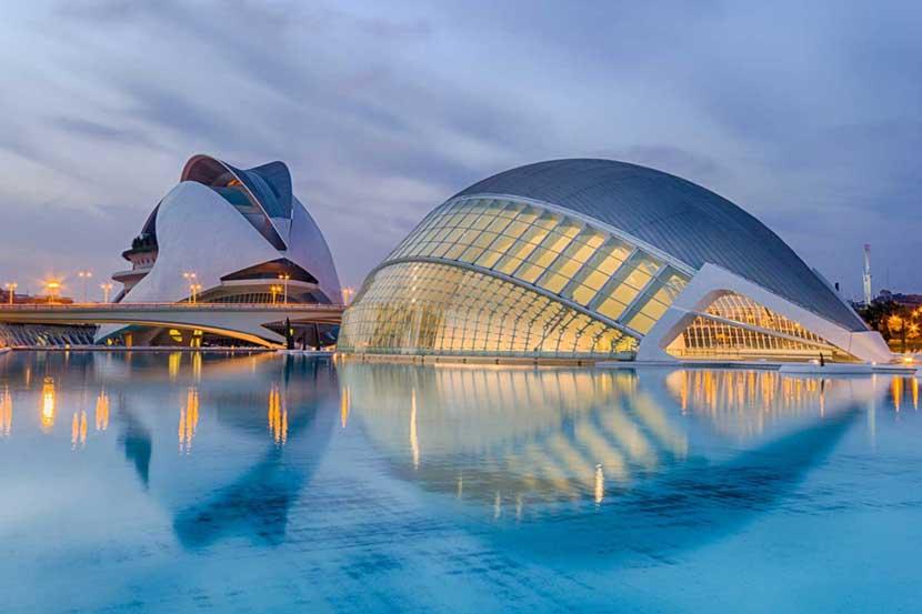 Città dell'Arte e della Scienza a Valencia
