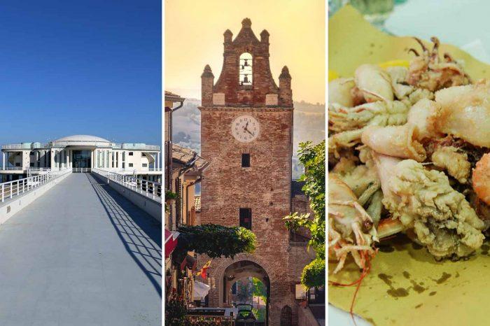 Senigallia, Gradara e il pranzo di pesce a Marotta