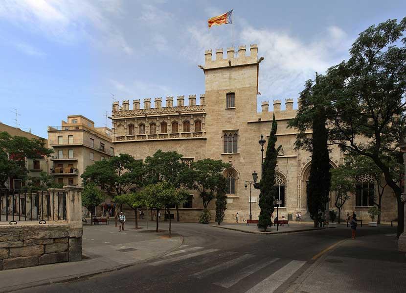 Lonja de la Seda a Valencia