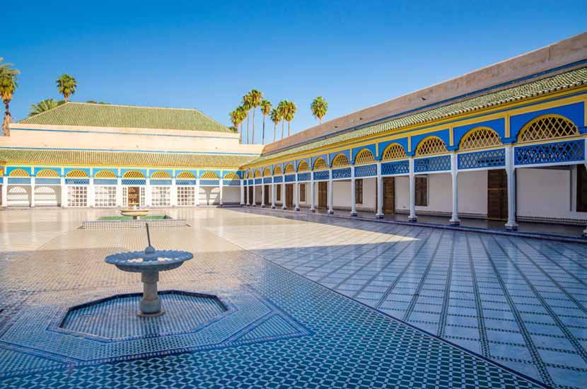 Palazzo de Bahia a Marrakech