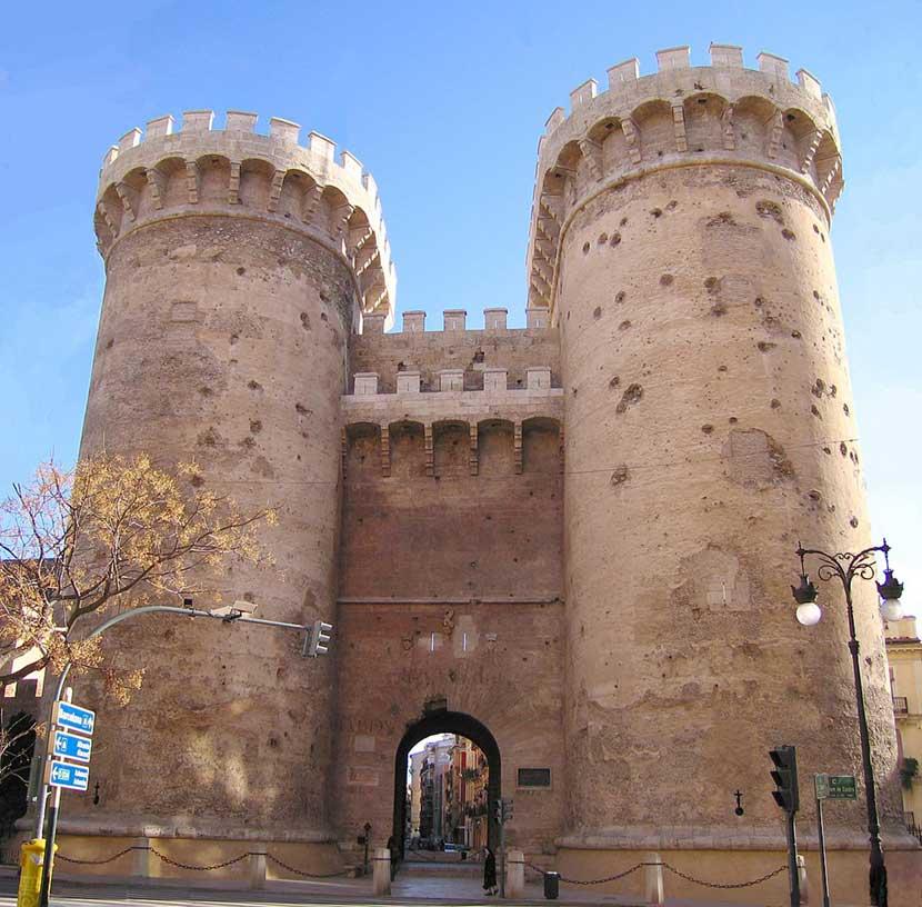 Torres de Quart a Valencia