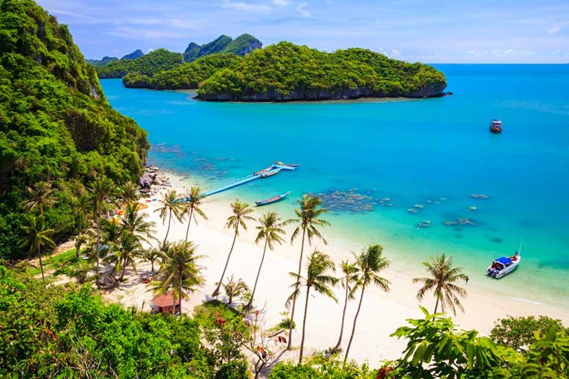 Il paradiso a Koh Samui