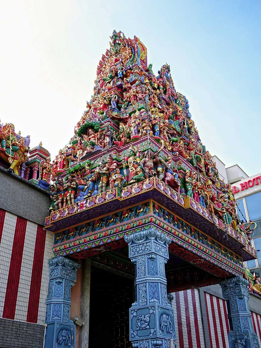 Tempio di Sri Veeramakaliamman a Singapore