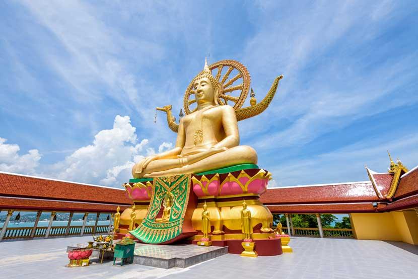 Statua del Grande Budda a Koh Samui
