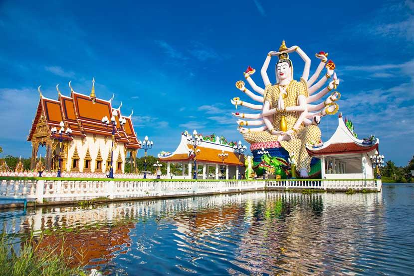 Tempio buddista Wat Plai Laem