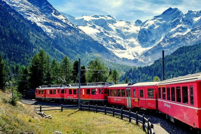 Il Trenino del Bernina, Bienno e il Lago d'Iseo