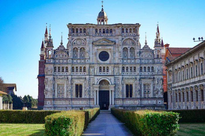 Pavia e la bella Certosa