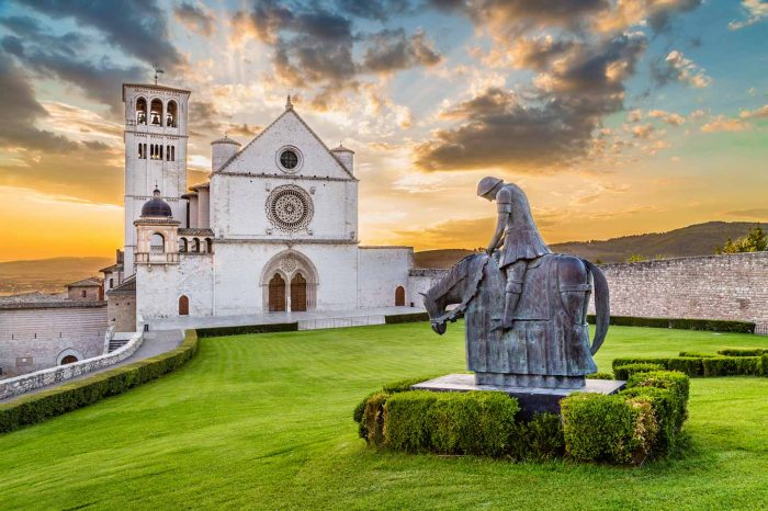 Assisi e la natura di San Francesco