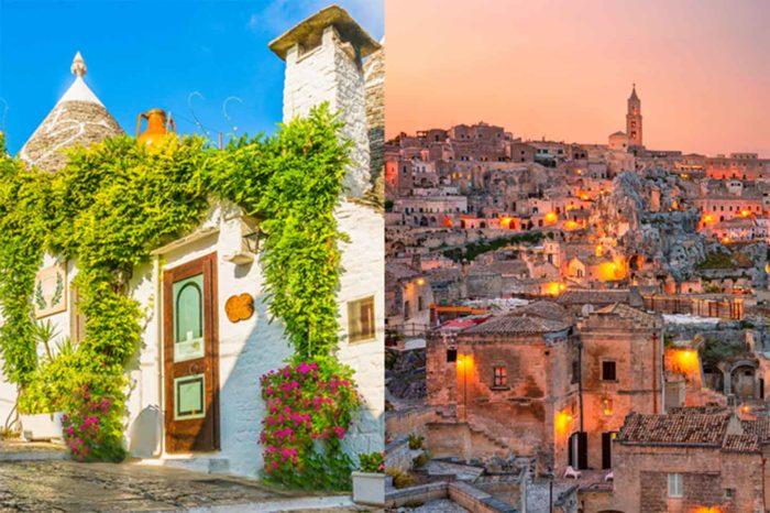 Tour della Puglia e Matera