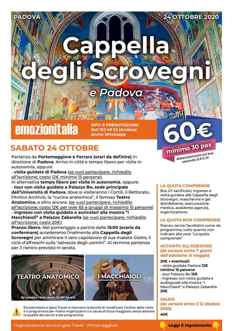 Gita-Organizzata-di-un-Giorno-Cappela-Scrovegni-Padova