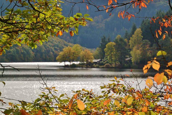 Foliage sul Lago di Tovel e Trento