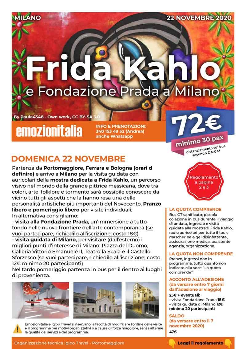 Gita-Organizzata-un-Giorno-Frida-Kahlo-Fondazione-Prada-2020
