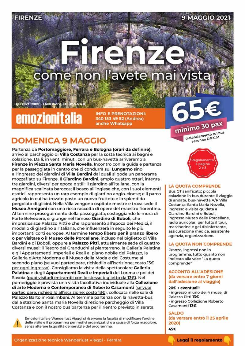 Gita-Organizzata-un-Giorno-Firenze-Mai-Vista
