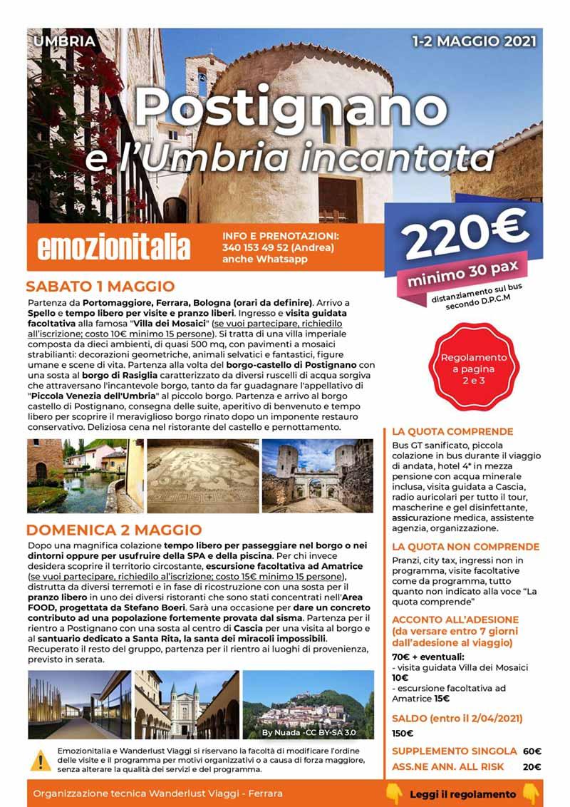 Viaggio-Organizzato-Gruppo-Postignano-Umbria-Incantata