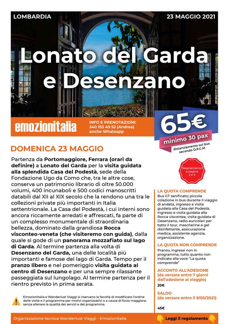 Gita-Organizzata-di-Gruppo-Lonato-sul-Garda-Desenzano-del-Garda-2021