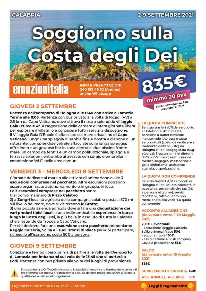 Viaggio-Organizzato-Costa-degli-Dei-2021