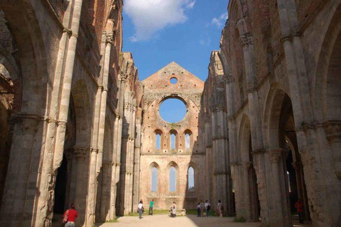 San Galgano, la Spada nella roccia e il Duomo di Siena