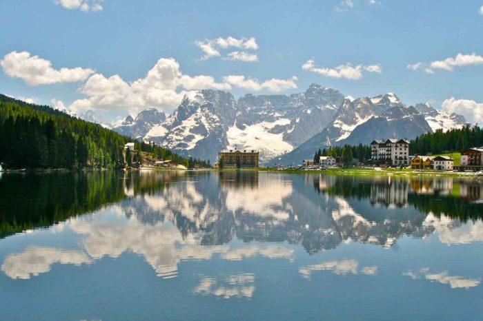 Lago di Misurina, le 3 Cime di Lavaredo e Cortina d'Ampezzo