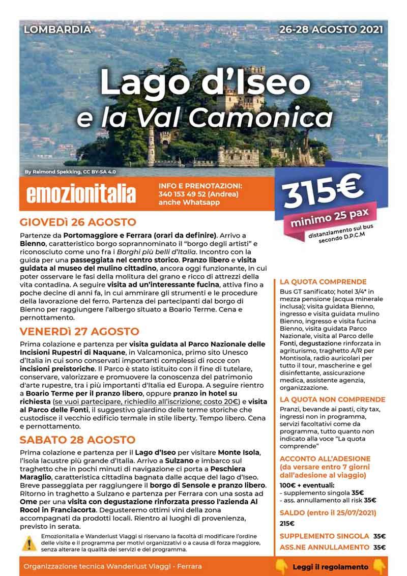 Viaggio-Organizzato-Gruppo-Lago-Iseo-Val-Camonica-2021