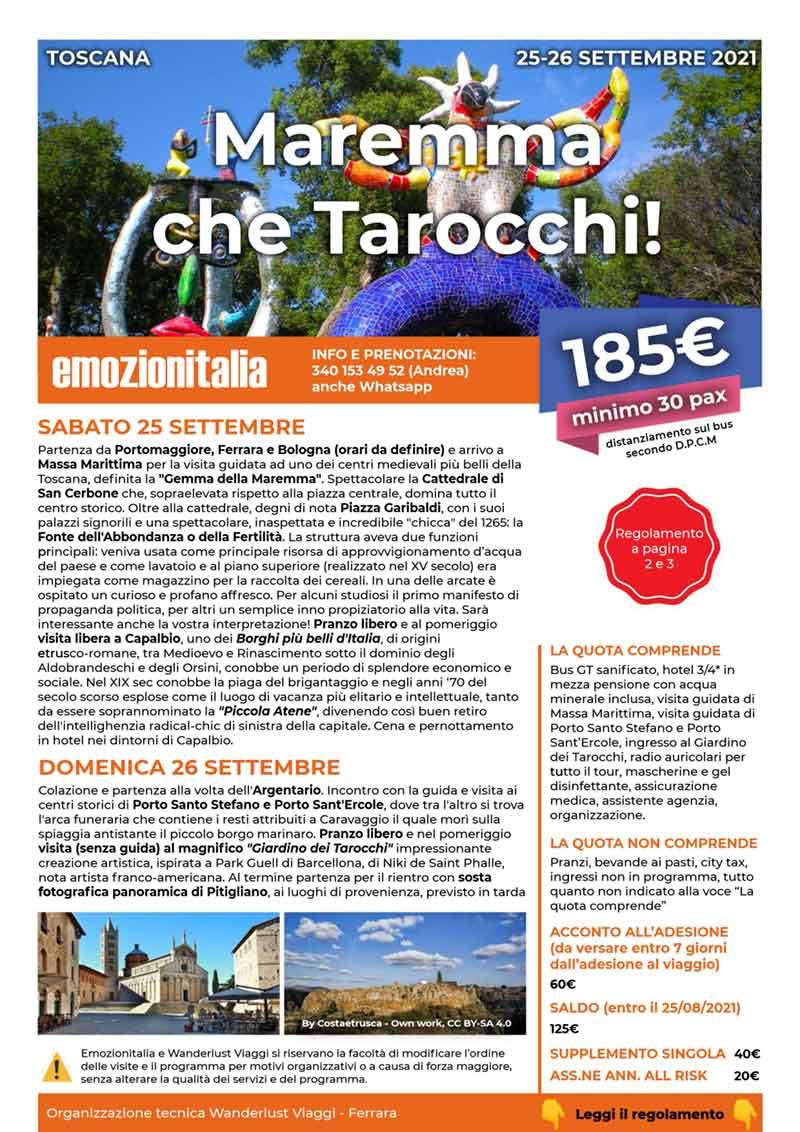 Viaggio-Organizzato-Gruppo-Maremma-che-Tarocchi-2021