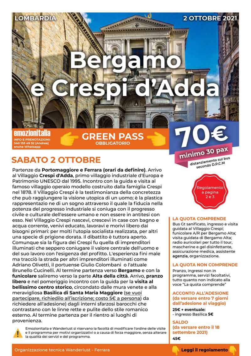 Gita-Organizzata-un-Giorno-Bergamo-Crespi-Adda-2021