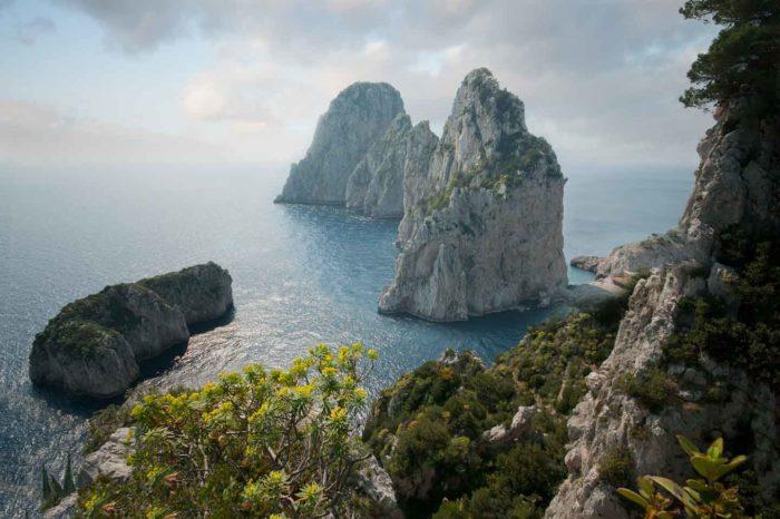 Capri, Napoli e Procida